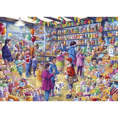 Puzzle Gibsons-G3545 XXL Teile - The Old Sweet Shop