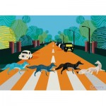 Puzzle  Gibsons-G3605 Abbey Fox Road