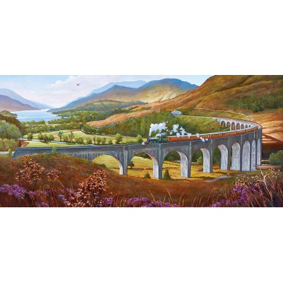 Puzzle Gibsons-G4037 Mike Jeffries - Glenfinnan Viaduct