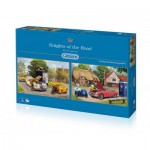 Gibsons-G5031 2 Puzzles - Kevin Walsh: Knights of the Road