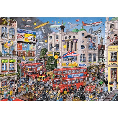 Puzzle Gibsons-G579 Ich liebe London