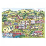 Puzzle  Gibsons-G6169 Armand Foster: The Caravan Site