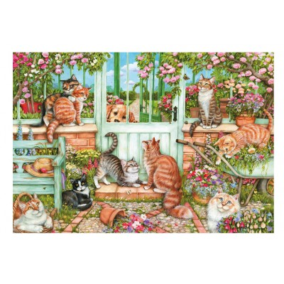Puzzle Gibsons-G6171 Debbie Cook: Catch us if you Can