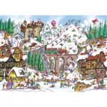 Puzzle  Gibsons-G6192 Armand Foster: Off Piste