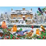 Puzzle  Gibsons-G6199 Greg Giordano - A Winter Song