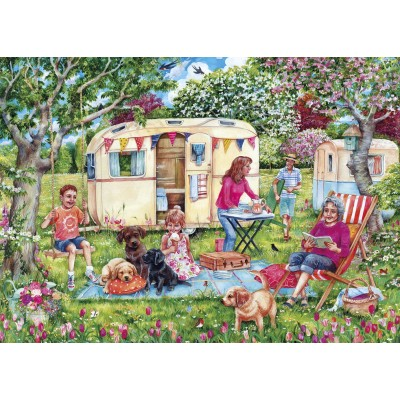 Puzzle Gibsons-G6271 Caravan Escapes
