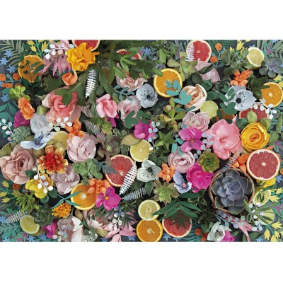 Puzzle Gibsons-G6600 Paper Flowers