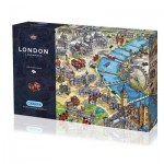 Puzzle  Gibsons-G7066 London Landmarks