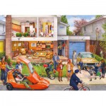 Puzzle  Gibsons-G7072 Steve Noon: Memory Lane - Our House 1970s