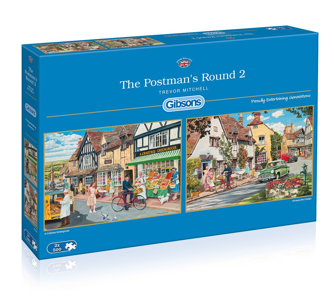 the postman 39 s round 2 500 teile gibsons puzzle online kaufen. Black Bedroom Furniture Sets. Home Design Ideas
