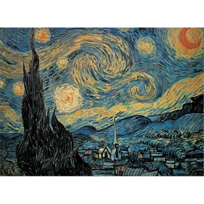 van gogh sternennacht 250 teile puzzle online kaufen. Black Bedroom Furniture Sets. Home Design Ideas