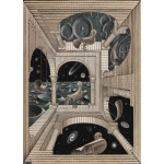 Puzzle  PuzzelMan-863 MC Escher - Different World