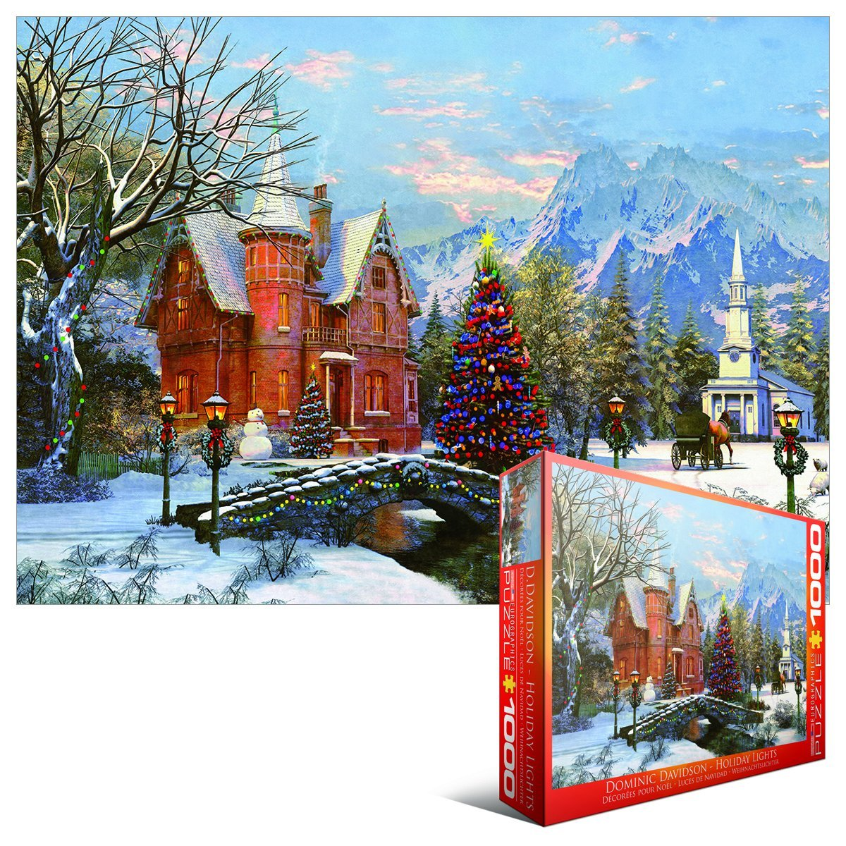 dominic davison holiday lights 1000 teile eurographics puzzle online kaufen. Black Bedroom Furniture Sets. Home Design Ideas