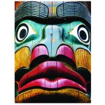 Puzzle  Eurographics-6000-0243 Totems Comox Valley, Campbell River, British Columbia