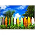 Puzzle  Eurographics-6000-0550 Das Paradies für Surfer - Hawaii