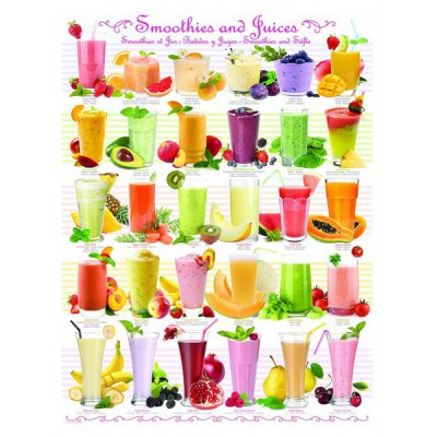 Puzzle Eurographics-6000-0591 Smoothies