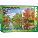 Puzzle  Eurographics-6000-0696 Dominic Davison - Lakeside Reflections