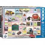 Puzzle  Eurographics-6000-0800 VW Beetle - Käfer