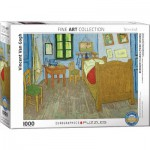 Puzzle  Eurographics-6000-0838 Vincent Van Gogh - Zimmer in Arles