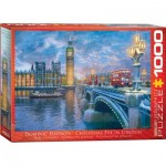 Puzzle  Eurographics-6000-0916 Dominic Davison: Christmas Eve in London