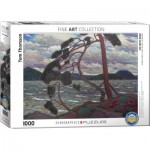 Puzzle  Eurographics-6000-0923 The West Wind by Tom Thomson