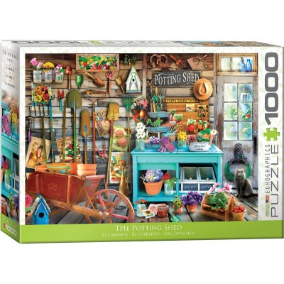 Puzzle Eurographics-6000-5346 The Potting Shed