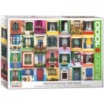 Puzzle  Eurographics-6000-5350 Mediterranean Windows