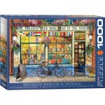 Puzzle  Eurographics-6000-5351 The Greatest Bookstore in the World