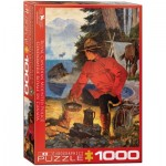 Puzzle  Eurographics-6000-5352 Morning Campfire