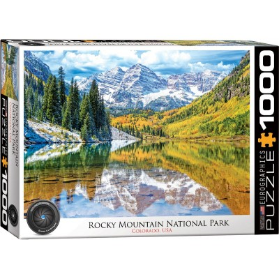 Puzzle Eurographics-6000-5472 Rocky Mountain National Park