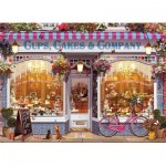 Puzzle  Eurographics-6000-5520 Cups, Cakes & Company