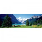 Puzzle  Eurographics-6010-1456 Lake Louise, Canadian Rockies