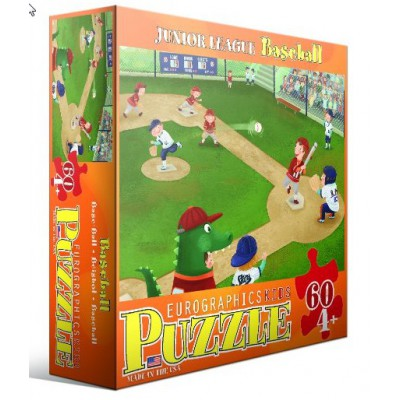 Puzzle Eurographics-6060-0484 Baseball Juniorsliga