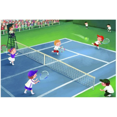 Puzzle Eurographics-6060-0496 Tennis Juniorsliga