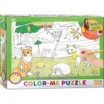 Eurographics-6111-0891 Color-Me Puzzle - Wald
