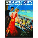 Puzzle  Eurographics-8000-0396 Atlantic City Urlaubsort
