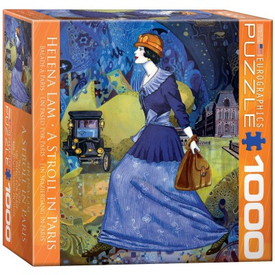 Puzzle Eurographics-8000-0515 Helena Lam: Ein Spaziergang in Paris