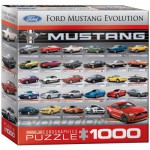 Puzzle  Eurographics-8000-0684 Ford Mustang Evolution