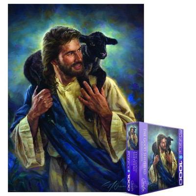 Puzzle Eurographics-8000-0707 Nathan Greene - The Good Shepherd