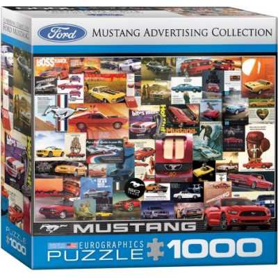 Puzzle Eurographics-8000-0748-0784 Ford Mustang Vintage