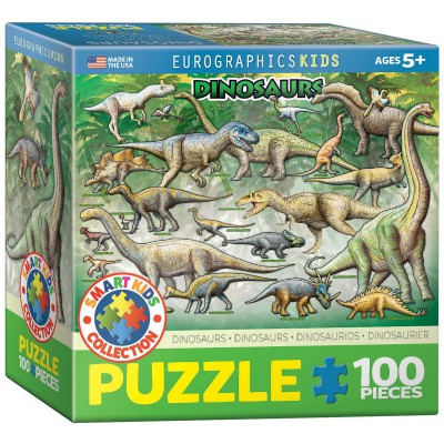 Puzzle Eurographics-8100-0098 Dinosaurier