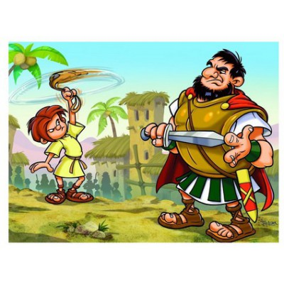 Puzzle Eurographics-8100-0347 David und Goliath