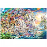 Puzzle  Eurographics-8220-5551 Unicorn Fantasy
