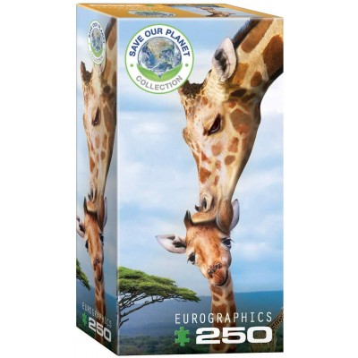 Puzzle Eurographics-8251-0294 Save the Planet - Giraffe