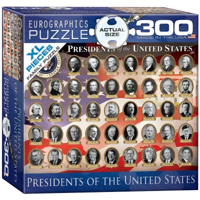 Puzzle Eurographics-8300-1432 XXL Teile - Presidents of the United States