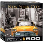 Puzzle  Eurographics-8500-0657 XXL Teile - New York City Yellow Cab
