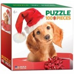 Mini Puzzle - Holiday Puppy