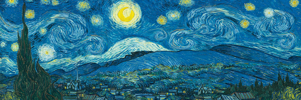 van gogh vincent sternennacht ber der rhone 1000 teile eurographics puzzle online kaufen. Black Bedroom Furniture Sets. Home Design Ideas