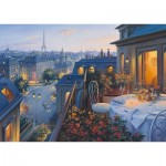 Puzzle   Evgeny Lushpin - Abend in Paris