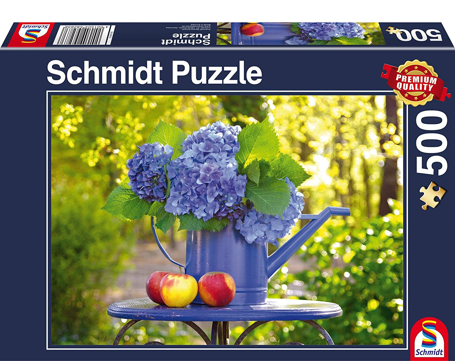 gie kanne mit hortensie 500 teile schmidt spiele puzzle online kaufen. Black Bedroom Furniture Sets. Home Design Ideas